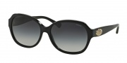 Coach HC8150 Sunglasses L133 Sunglasses - 500211 Black / Grey Gradient