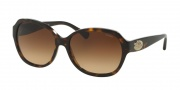 Coach HC8150 Sunglasses L133 Sunglasses - 512013 Dark Tortoise / Brown Gradient