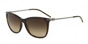Emporio Armani EA4051 Sunglasses Sunglasses - 502613 Havana / Brown Gradient