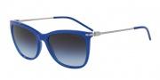 Emporio Armani EA4051 Sunglasses Sunglasses - 53794Q Opal Blue / Light Violet Grad Dark Grey