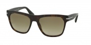Prada PR 03RS Sunglasses Sunglasses - HAQ1X1 Matte Havana / Brown Gradient