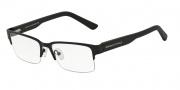 Armani Exchange AX1014 Eyeglasses Eyeglasses - 6063 Satin Black/Matte Black