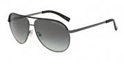Armani Exchange AX2002 Sunglasses Sunglasses - 600611 Gunmetal/Black / Grey Gradient