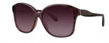 Zac Posen Anita Sunglasses Sunglasses - Red Tortoise