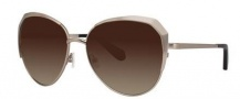Zac Posen Issa Sunglasses Sunglasses - Gold