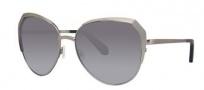 Zac Posen Issa Sunglasses Sunglasses - Silver