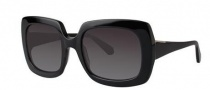 Zac Posen Mounia Sunglasses Sunglasses - Black