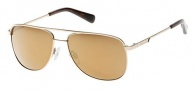 Kenneth Cole KC7153 Sunglasses Sunglasses - 32G Gold / Brown Mirror