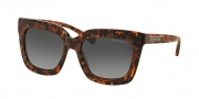 Michael Kors MK2013 Sunglasses Polynesia Sunglasses - 3066T3 Brown Tortoise / Grey Gradient Polarized