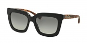 Michael Kors MK2013 Sunglasses Polynesia Sunglasses - 306511 Black Brown Tortoise / Grey Gradient