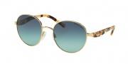 Michael Kors MK1007 Sunglasses Sadie III Sunglasses - 10934S Gold/Ocean Confetti Tortoise / Teal Gradient
