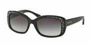 Coach HC8161 Sunglasses L146 Sunglasses - 500211 Black / Light Grey Gradient