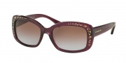 Coach HC8161 Sunglasses L146 Sunglasses - 504368 Purple / Brown Purple Gradient