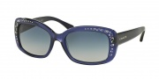 Coach HC8161 Sunglasses L146 Sunglasses - 51104L Navy / Blue Gradient