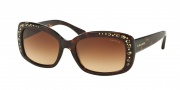 Coach HC8161 Sunglasses L146 Sunglasses - 512013 Dark Tortoise / Brown Gradient