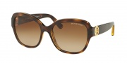 Michael Kors MK6027 Sunglasses Tabitha III Sunglasses - 300613 dk Tortoise / Brown Gradient
