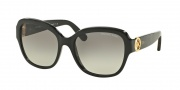Michael Kors MK6027 Sunglasses Tabitha III Sunglasses - 309911 Black/Black Glitter / Grey Gradient