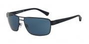 Emporio Armani EA2031 Sunglasses Sunglasses - 311180 Matte Blue / Blue