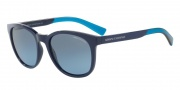 Armani Exchange AX4050S Sunglasses Sunglasses - 81878F Blue / Blue Gradient
