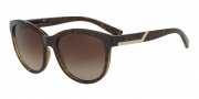 Armani Exchange AX4051S Sunglasses Sunglasses - 803713 Havana / Brown Gradient