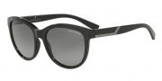 Armani Exchange AX4051S Sunglasses Sunglasses - 815811 Black / Grey Gradient