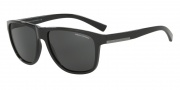 Armani Exchange AX4052S Sunglasses Sunglasses - 815887 Black / Grey