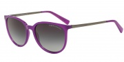 Armani Exchange AX4048SF Sunglasses Sunglasses - 81718G Purple Magic Milky / Grey Gradient