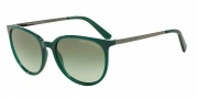 Armani Exchange AX4048S Sunglasses Sunglasses - 81708E Alpine Green Milky / Green Gradient