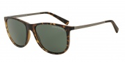 Armani Exchange AX4047SF Sunglasses Sunglasses - 802971 Matte Tortoise / Grey Green