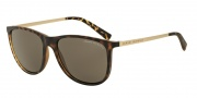 Armani Exchange AX4047SF Sunglasses Sunglasses - 802973 Matte Tortoise / Brown
