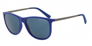 Armani Exchange AX4047SF Sunglasses Sunglasses - 816880 Matte Elettric Blue / Blue