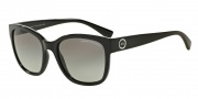 Armani Exchange AX4046S Sunglasses Sunglasses - 815811 Black / Grey Gradient