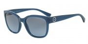Armani Exchange AX4046S Sunglasses Sunglasses - 81728F Blue Navy Milky / Blue Gradient