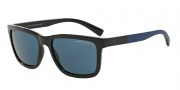 Armani Exchange AX4045S Sunglasses Sunglasses - 817780 Dark Blue / Blue