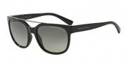 Armani Exchange AX4043S Sunglasses Sunglasses - 815811 Black / Grey Gradient