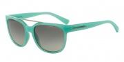 Armani Exchange AX4043S Sunglasses Sunglasses - 816011 Green / Grey Gradient