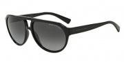 Armani Exchange AX4042S Sunglasses Sunglasses - 8158T3 Black / Polarized Grey Gradient