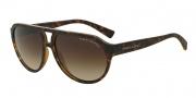 Armani Exchange AX4042S Sunglasses Sunglasses - 802913 Matte Tortoise / Brown Gradient