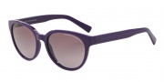 Armani Exchange AX4034 Sunglasses Sunglasses - 81518H dk Purple /dk Purp Grp Stripe / Purple Gradient