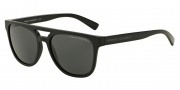 Armani Exchange AX4032 Sunglasses Sunglasses - 814087 Black / Grey Solid