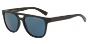 Armani Exchange AX4032 Sunglasses Sunglasses - 814172 Blue / Dark Blue Solid