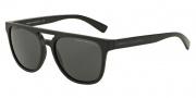 Armani Exchange AX4032F Sunglasses Sunglasses - 814087 Black / Grey Solid