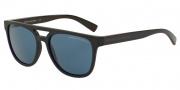 Armani Exchange AX4032F Sunglasses Sunglasses - 814172 Blue / Dark Blue Solid