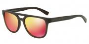 Armani Exchange AX4032F Sunglasses Sunglasses - 81426Q Black / Orange Mirror