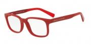 Armani Exchange AX3029F Eyeglasses Eyeglasses - 8184 Matte Red