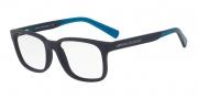 Armani Exchange AX3029 Eyeglasses Eyeglasses - 8183 Matte Blue
