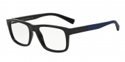 Armani Exchange AX3025 Eyeglasses Eyeglasses - 8177 Dark Blue