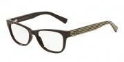 Armani Exchange AX3020 Eyeglasses Eyeglasses - 8149 Brown / Brown Cream Stripe