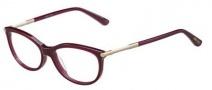 Jimmy Choo 154 Eyeglasses Eyeglasses - 0J5N Burgundy