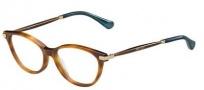 Jimmy Choo 153 Eyeglasses Eyeglasses - 0QAN Light Havana Glitter